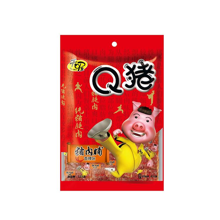 天喔 Q猪猪肉脯(香辣)138g