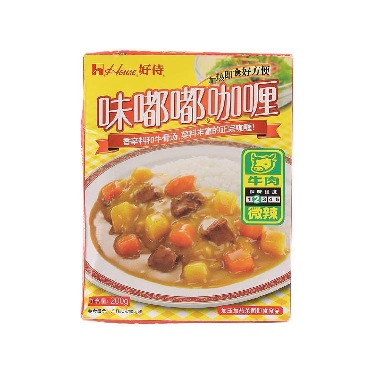好侍味嘟嘟咖喱牛肉(微辣)200g