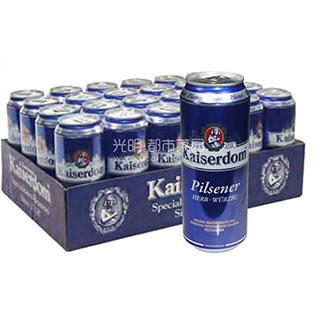 德国凯撒比尔森啤酒500ml*24/箱