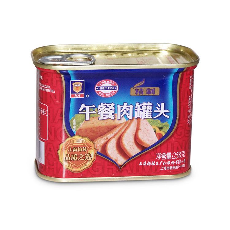 梅林 精制午餐肉258g