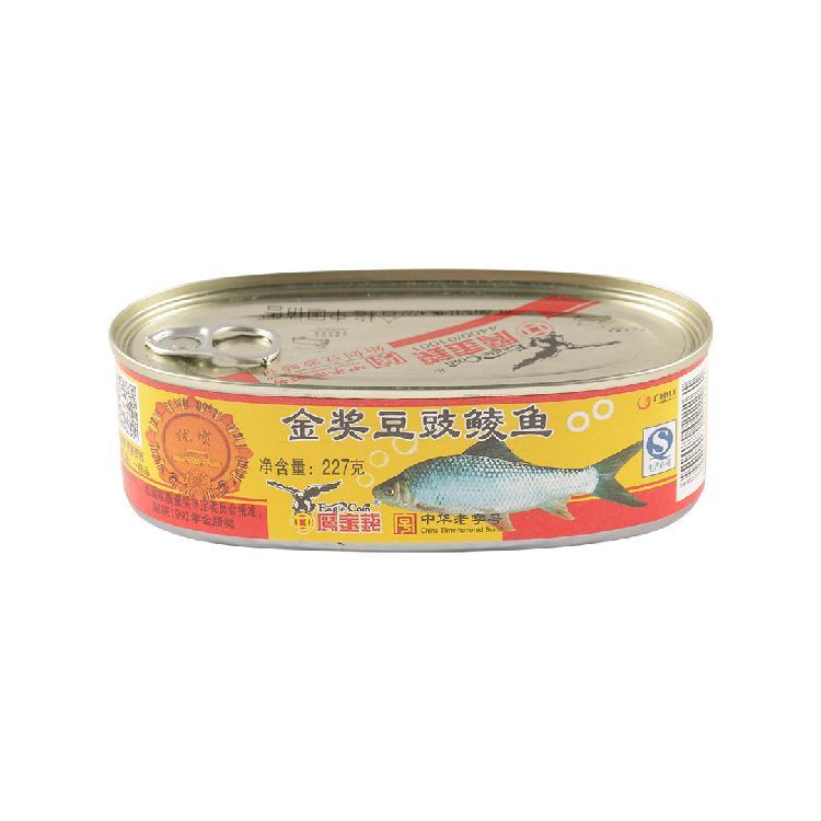 鹰金钱 金奖豆豉鲮鱼227g