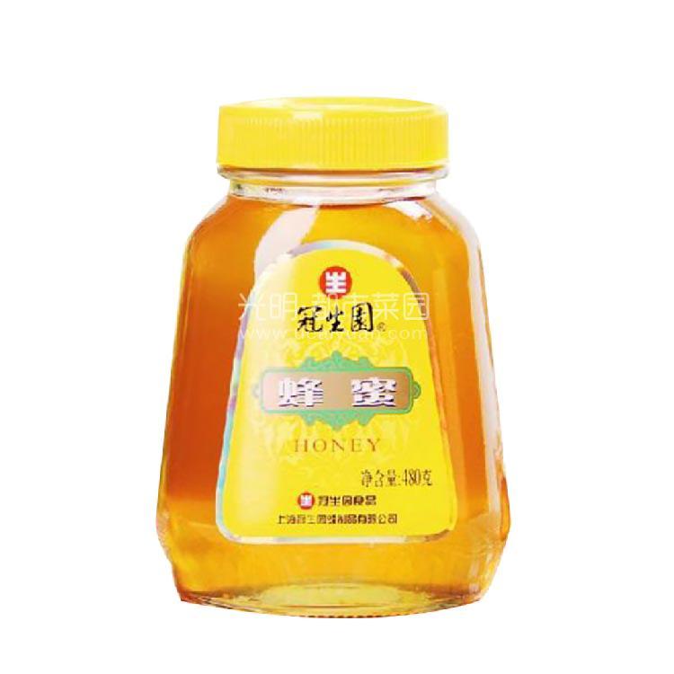 冠生园 三角瓶蜂蜜 480g
