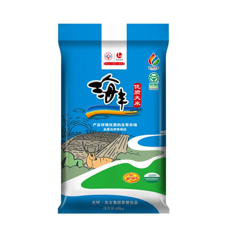 新米 光明米业 海丰优质大米10kg/袋